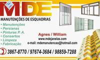 Logo de Mde Janelas Especializada em Esquadrias de Alumínio em Jardim Melo
