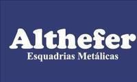 Logo de Altefher Esquadrias Metálicas em Novo Mundo