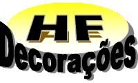Logo HF Decorações e Prestadora de Serviços