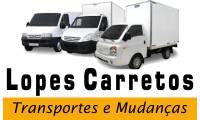 Logo Lopes Express Mudanças em Barra Funda