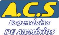 Logo Acs Esquadrias de Alumínio em Ceilândia Norte