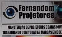 Logo de FERNANDOM MANUTENÇÃO E PROJETORES E DATA SHOW em Nazaré