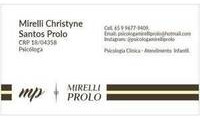 Logo Psicóloga Mirelli Prolo