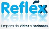Logo Refléx Limpeza de Vidros E Fachadas em Roçado