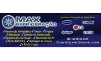 Logo de Max Refrigeração Conserto e Peças para Máquinas de Lavar