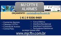 Logo de MJ CFTV & ALARMES