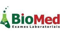 Logo Biomed Exames Laboratoriais em Centro