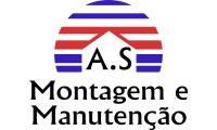 Logo A S Montagem E Manutenções em Cidade Nova