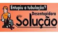 Logo de Desentupidora Solução