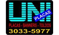 Logo Uniplacas - Placas de Sinalização em Cobilândia