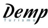 Logo de Demp Turismo em Serrinha