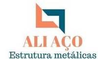 Logo Ali Aço Estruturas Metálicas e Serralheria em Jardim Tiradentes