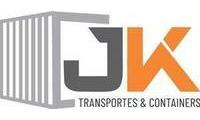 logo da empresa Jk Transportes e Containers