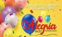 Logo Alegria Balões Personalizados em de Lourdes