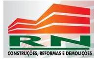 Logo de RN Construções, Reformas e Demolições