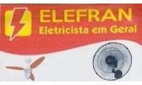 Logo ELEFRAN - Eletrecistas em Geral em Setor Leste Vila Nova