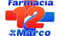 Logo de Farmácia 12 de Março - Doze de Março - Delivery Entrega Olinda em Bairro Novo