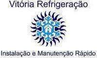 Logo de Vitória Refrigeração Instalação E Manutenção 24hs em Campina Grande