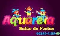 Logo de Aquarela Salão de Festas em Céu Azul