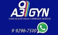 Logo de A3 Gyn Comunicação Visual