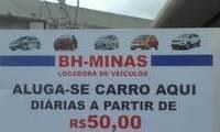 Logo de Bh Minas Aluguel de Carros em Planalto