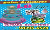 Logo de Lú Leite Bolos Artísticos em Mangueirão