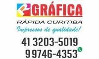 Logo de R Gráfica Curitiba - Adesivos em Novo Mundo