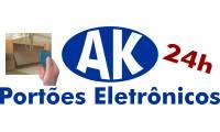 Logo de Ak Portões Eletrônicos em Cidade Nova