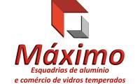 Logo de Máximo Esquadrias de Alumínio E Comércio de Vidro Temperado em Vila Mariana