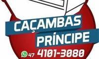 Logo Caçambas Príncipe / Aluguel de Caçambas em Parque Guarani
