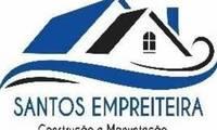 Logo de Santos empreiteira em Cidade Satélite Íris