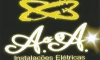Logo A.A Instalações Elétricas em Guarani