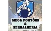 Logo Mega Portões & Serralheria
