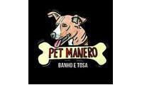 Logo de Pet Manero em Vargem Grande