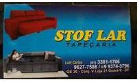 Logo STOF LAR Tapeçarias em Guará II