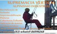 Logo de Supremacia Vertical alpinismo Industrial