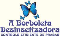 Logo A Borboleta Desinsetizadora - Serviços de Dedetização, Desratização e Descupinização em Comércio