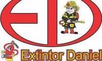 Logo Extintor Daniel Projetos E Equip de Combate A Incêndio em Marajoara