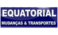Logo Equatorial Mudanças & Transportes em São Lázaro