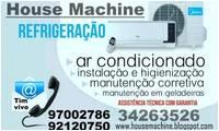 Logo de House Machine Refrigeração em João Costa