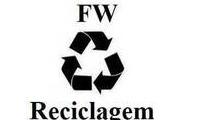 Logo FW Reciclagem - Coleta de Materiais Recicláveis!! em Morro da Liberdade