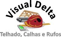 Logo de Visual Delta - Telhados, Calhas e Rufos