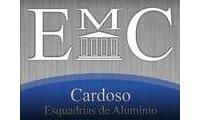 Logo de Emc Esquadrias de Alumínio E Ferro em Diamantino