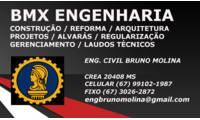 Logo de Bmx Engenharia E Construção - O MAIS BARATO DE MS em Conjunto Aero Rancho