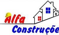 Logo de Alfa Construções