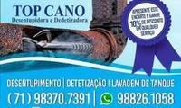Logo de Top cano desentupidora em Lobato