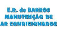 Logo de E R de Barros Manutenção de Ar-Condicionados em Olavo Bilac