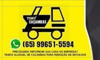 Logo Tony Caçambas em Vista Alegre