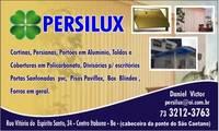 Logo Persilux Comércio de Esquadrias de Alumínio em Centro