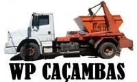 Logo WP Caçamba - Aluguel de Caçambas para Coleta de Entulho em Calafate